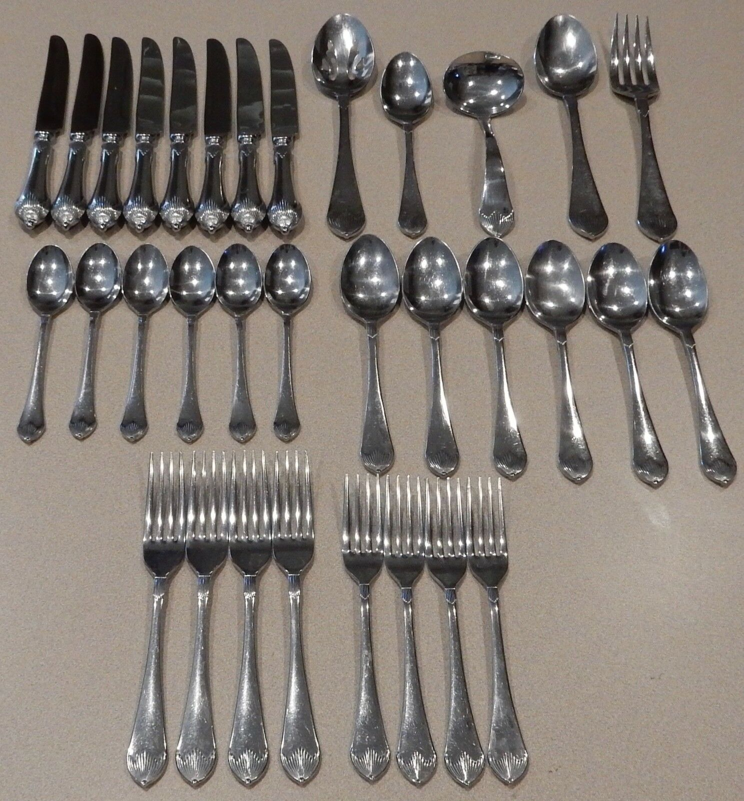 Laslo For Mikasa Stainless Flatware Japan 18 8