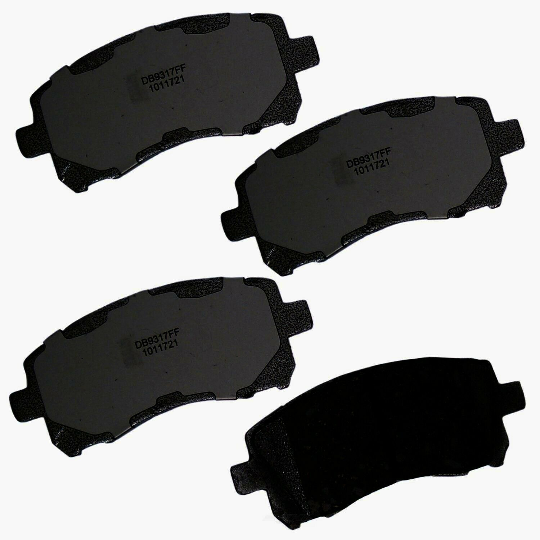 Disc Brake Pad Set Front AUTOZONE//DURALAST GOLD-BOSCH DG721