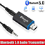 thumbnail 1 - USB-Bluetooth-5-0-Transmitter-3-5mm-AUX-Audio-Adapter-for-Headphones-Speaker-TV