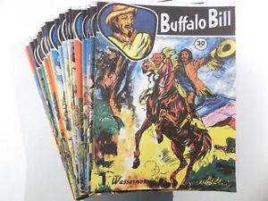 BUFFALO-BILL-Comic-Sammlung-1-29-komplett-CCH-1993-1995