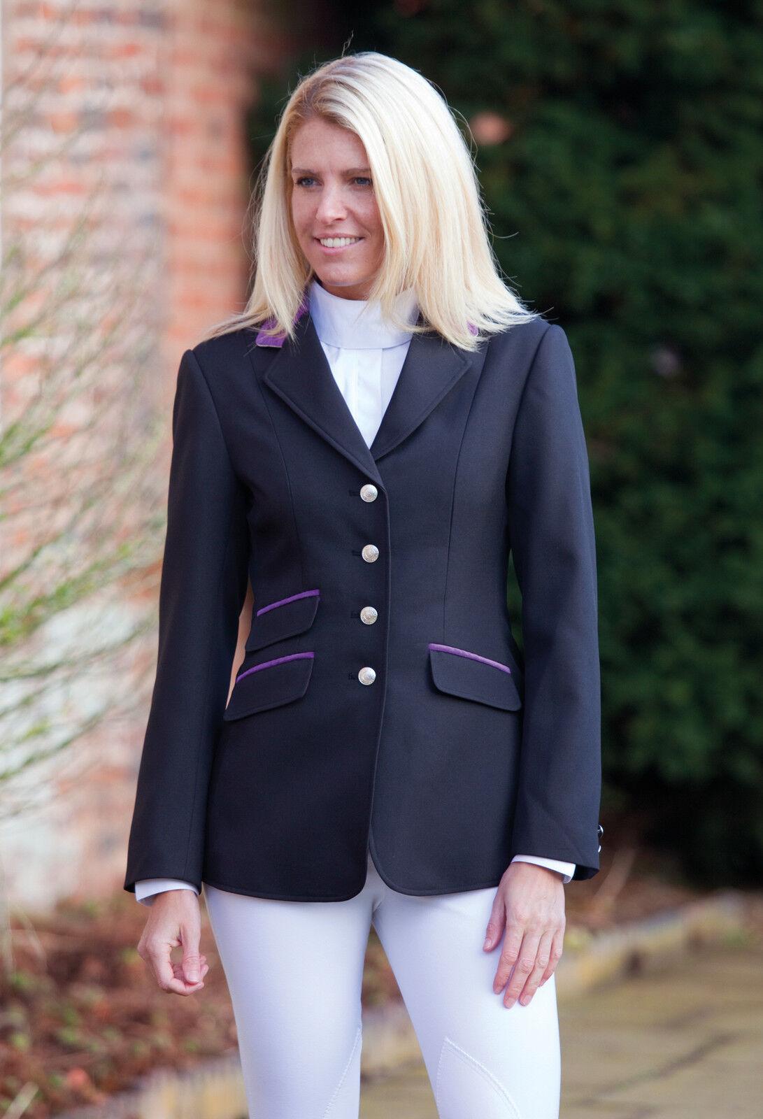 Shires Henley Mesdames veste de spectacle couleurs, de la concurrence - 2 couleurs, spectacle toutes les tailles, sautant 108885