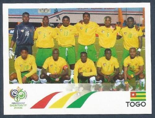 PANINI FIFA WORLD CUP-GERMANY 2006 #511-TOGO TEAM PHOTO