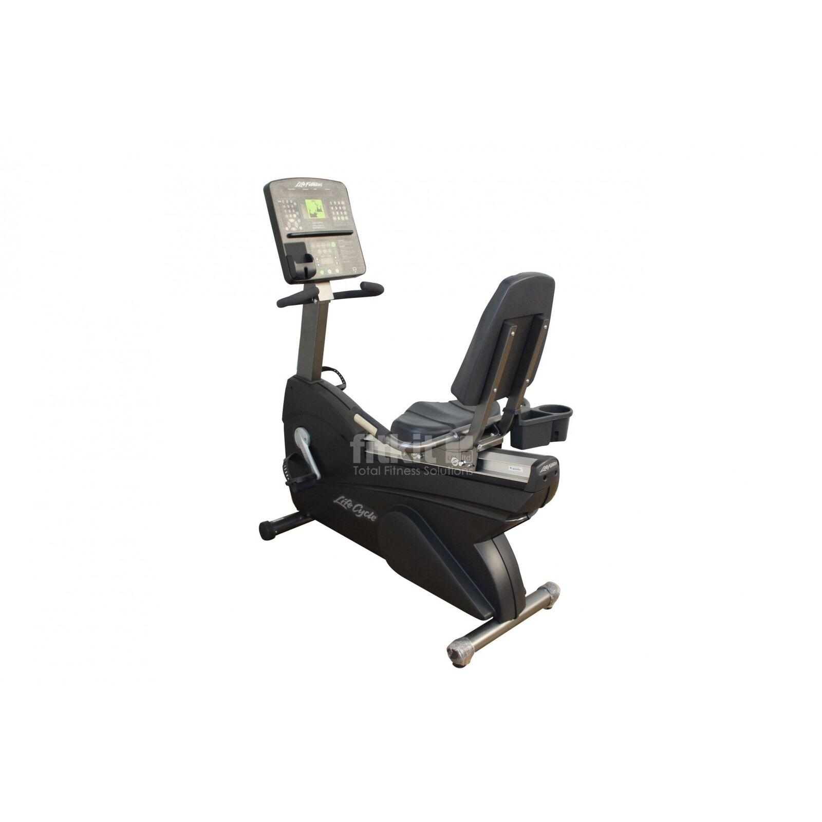 Life Fitness Integrity Ri Recumbent Bike (NEW) - Commercial Gym Equipment
