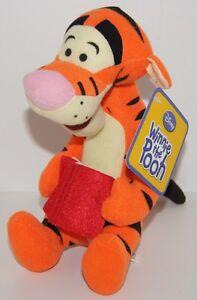 Disney-WINNIE-THE-POOH-TIGGER-Soft-Toy-Doll-19cm-BNWT