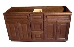 Charmant Image Is Loading New Maple Walnut Double Sink Bathroom Vanity Base