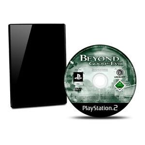 PS2-Jeu-au-dela-Good-amp-Mal-sans-Emballage-D-039-Origine-sans-Manuel-BB