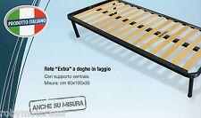 Rete in doghe di legno di faggio in OFFERTA 80X190 h35 100% italiana