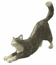 John Beswick Long Haired Cat Stretching Animal Figurine 11.7cm JBC43 New RRP£20