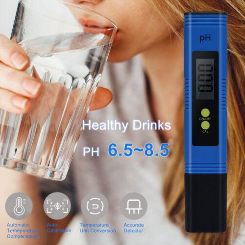 Digital LCD PH Wert Wasser Tester Meter Messgerät Aquarium Pool Prüfer 0.0-14.00