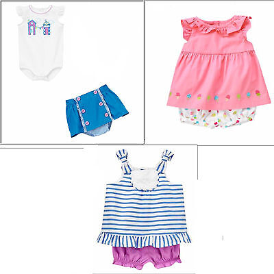 Gymboree Ice Cream Sweetie 2pc Shorts Set NWT 3 Retail Store