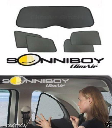 Sonniboy Ford Fiesta VI a partir de 2008 protección solar ajuste 5tlg