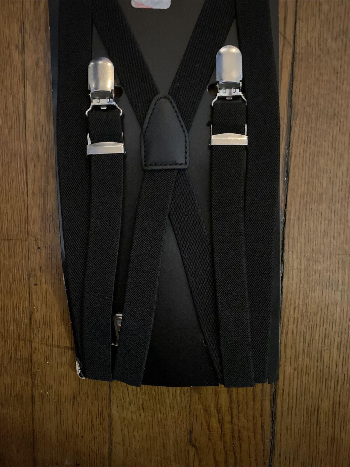 New Adjustable Suspender By H&M Black