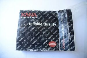 Details about KANA ROLLER CHAIN 12B-2 X 10' 160 LINKS NEW IN BOX