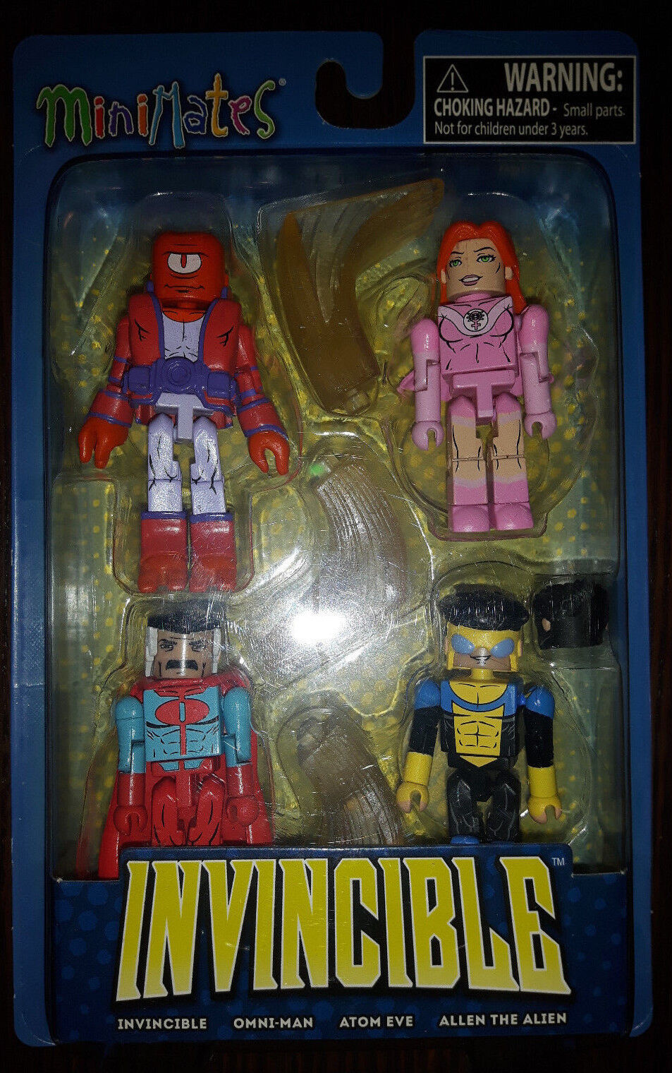 Invinicible Minimates 4 pack by Robert Kirkman Image Skybound
