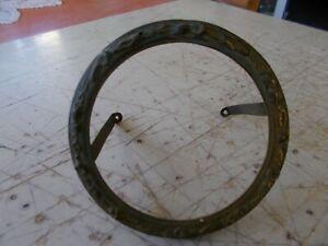 Bien Informé 1 Entourage Cadran En Bronze Pour Pendule, Du 19e Siecle, Diametre 94 Mm Le Plus Grand Confort
