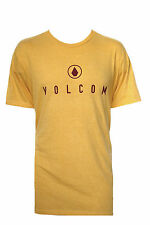 NEW VOLCOM MENS GUYS HEATHER GRAPHIC T SHIRT CLASSIC FIT CREW TEE TOP BLOUSE XL