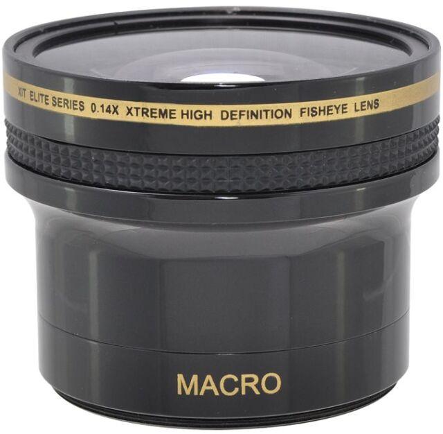 Xtreme Super HD 0.14x Fisheye Lens for Canon Powershot SX50 SX60 SX520 HS