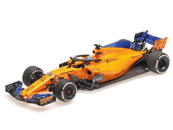Minichamps 1 43 537 184314 Mc Laren MCL33 F.1 Renault Alonso NEW