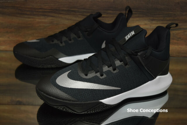 separation shoes 8802c 4b595 Nike Zooom Shift TB Basketball Shoes Black White 897811-001 Men s Size 11.5