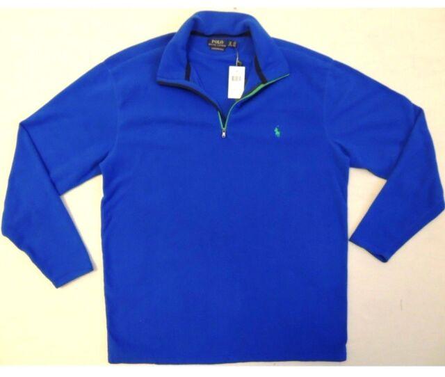 Ralph Lauren Blue Sweatshirt with Zip for Men