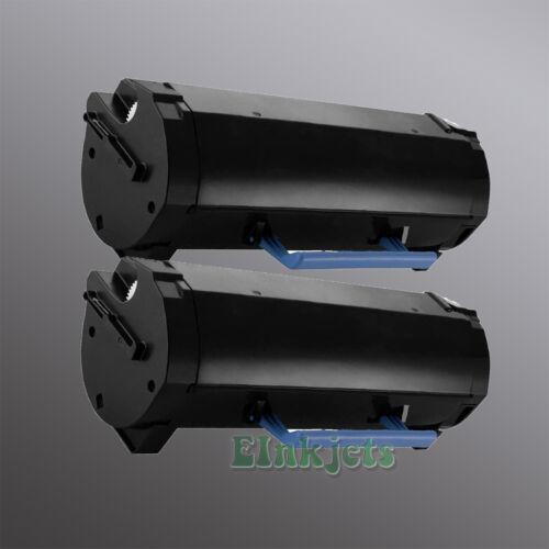 2 Pack Toner for Dell 331-9806 2PFPR 331-9805 C3NTP M11XH B2360d B2360dn 8.5K