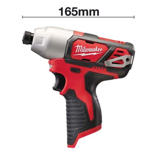 Milwaukee M12BID-0 12v Impact Driver Cordless Driver Body Only