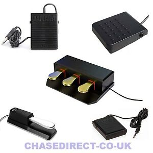 Details about Sustain Damper Pedal Foot Switch Casio Yamaha Korg Roland  Universal FC5 SP3 TB5