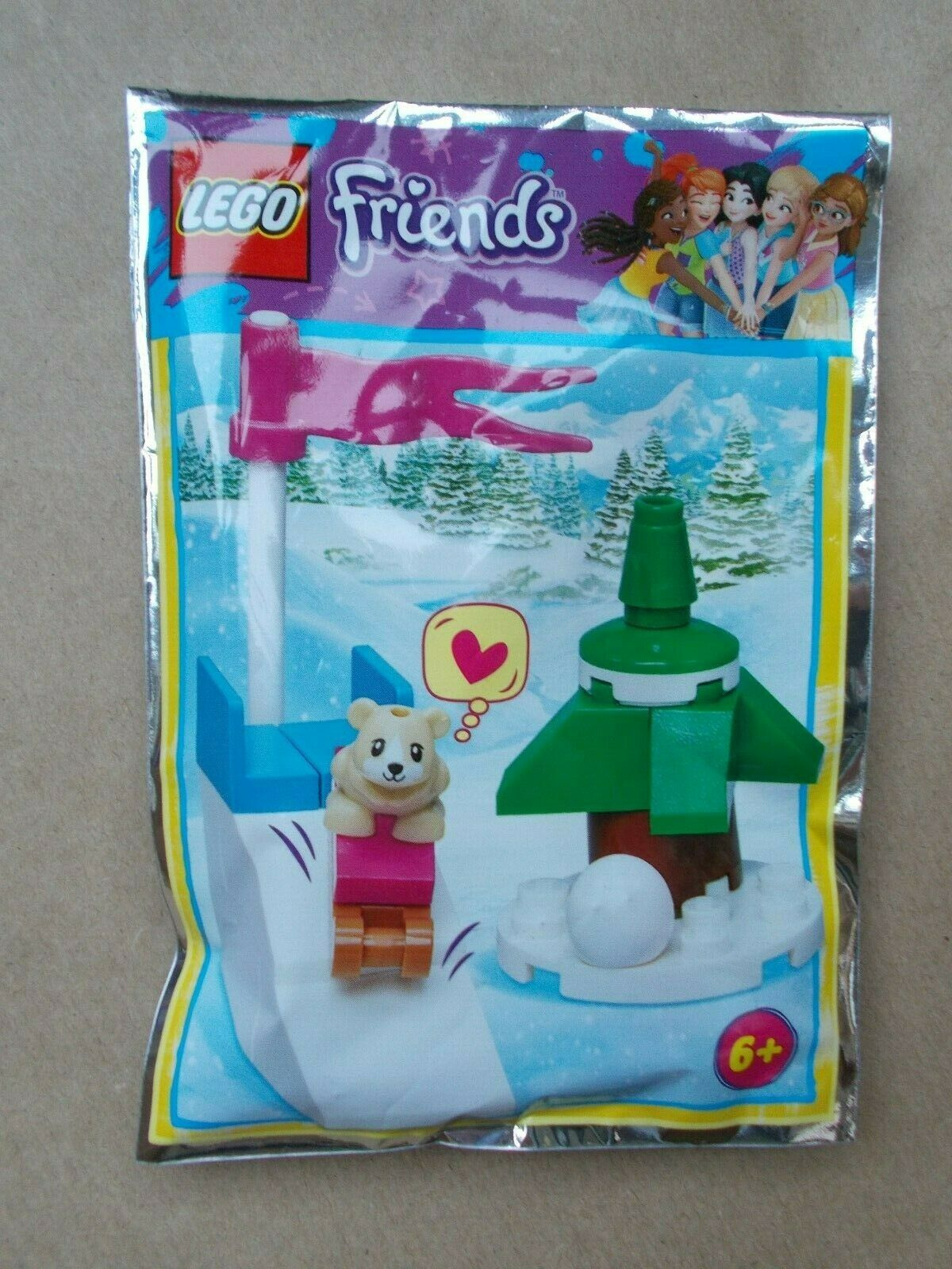 LEGO Friends Christmas Tree Foil Pack Set 561412 Bagged