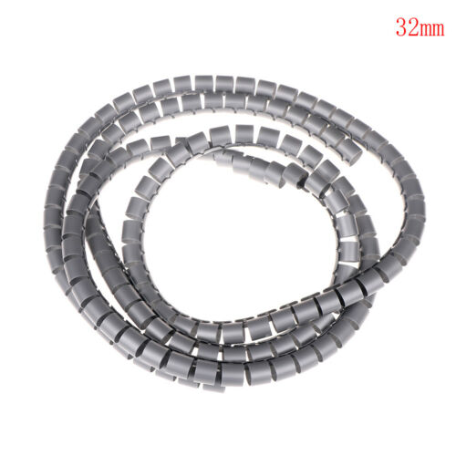 1M Wire Storage Tube Cable Organizer Pipe Wrap Cord Protector Spiral Device JD