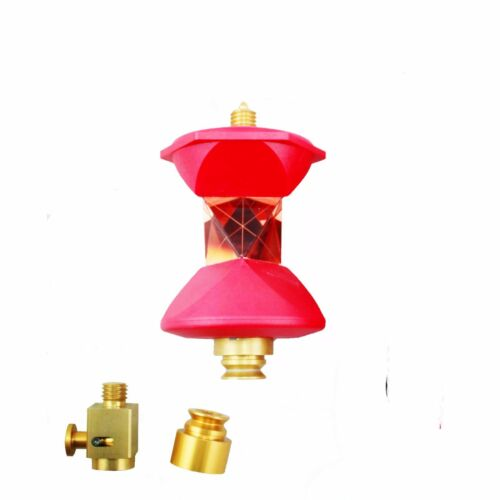 NEW red 360 Degree Reflective Prism for Robotic Total Station with 5//8x11