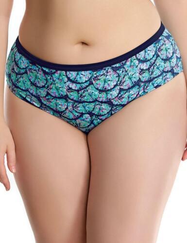 Elomi Abalone Mid Rise Bikini Brief Midnight 7083 Elomi Swimwear