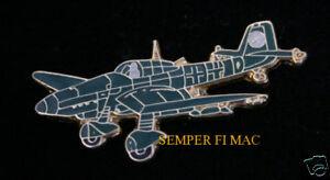 German  WW II ** .Stuka Dive Bomber .**   Lapel Pin  ...