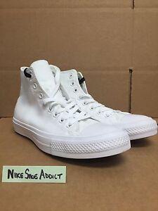 00ba18c025ba Converse All Star Chuck Taylor CT II 2 Hi High Triple White 150148C ...