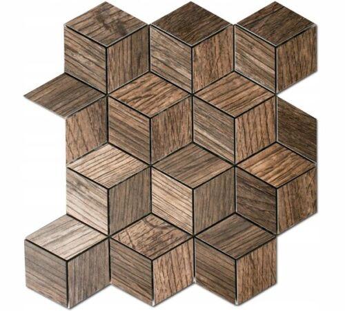 Dove acquistare Gres piastrelle mosaico effetto legno marrone matt Pavimento Box Doccia paraspruzzi