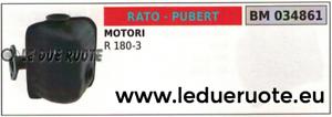 MARMITTA SCocheICO SILENZIATORE MOTORE RATO PUBERT R 180-3