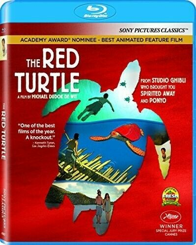 The Red Turtle BLU-RAY NEW