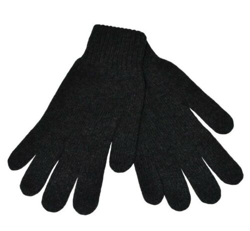 blue grey brown Mens 100/% Scottish Cashmere Gloves charcoal black navy