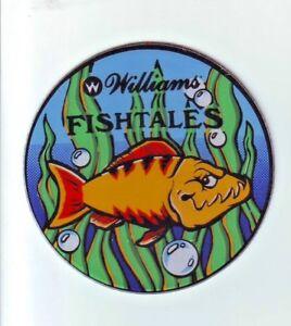 Williams-FISH-TALES-Original-1992-NOS-Pinball-Machine-Promo-Plastic-Coaster-2