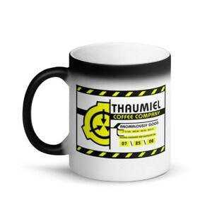 Scp Foundation Thaumiel Coffee Co Magic Color Changing Mug Scifi Horror Ebay Population du monde scp 682 minecraft banner designs foundation logo funny memes jokes plague doctor peace quotes. details about scp foundation thaumiel coffee co magic color changing mug scifi horror