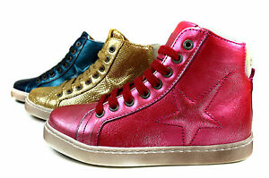 Bisgaard-lace-Kinder-Leder-Halb-Schuhe-Maedchen-Jungen-Sneaker-Gr-26-36-31807-216