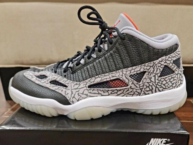 Nike Air Jordan 11 XI Retro Low IE Black Cement SZ 10.5  VVNDS PERFECT CONDITION