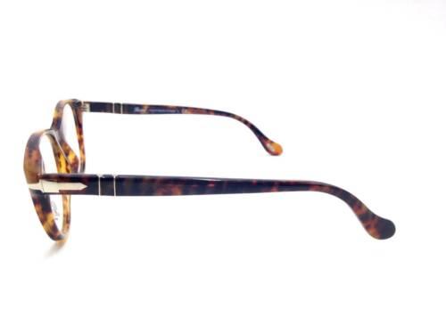$350 Persol Womens Havana Eyeglasses Frames Glasses Hand Made Italy Lenses 3036v