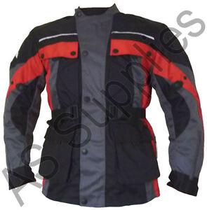 034-SCAR-034-neXus-New-Cordura-Textile-Biker-Motorcycle-Jacket-Long-Style-All-sizes
