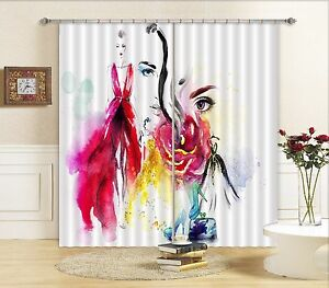 3D Beauty 913 Blockout Photo Curtain Printing Curtains Drapes Fabric Window AU