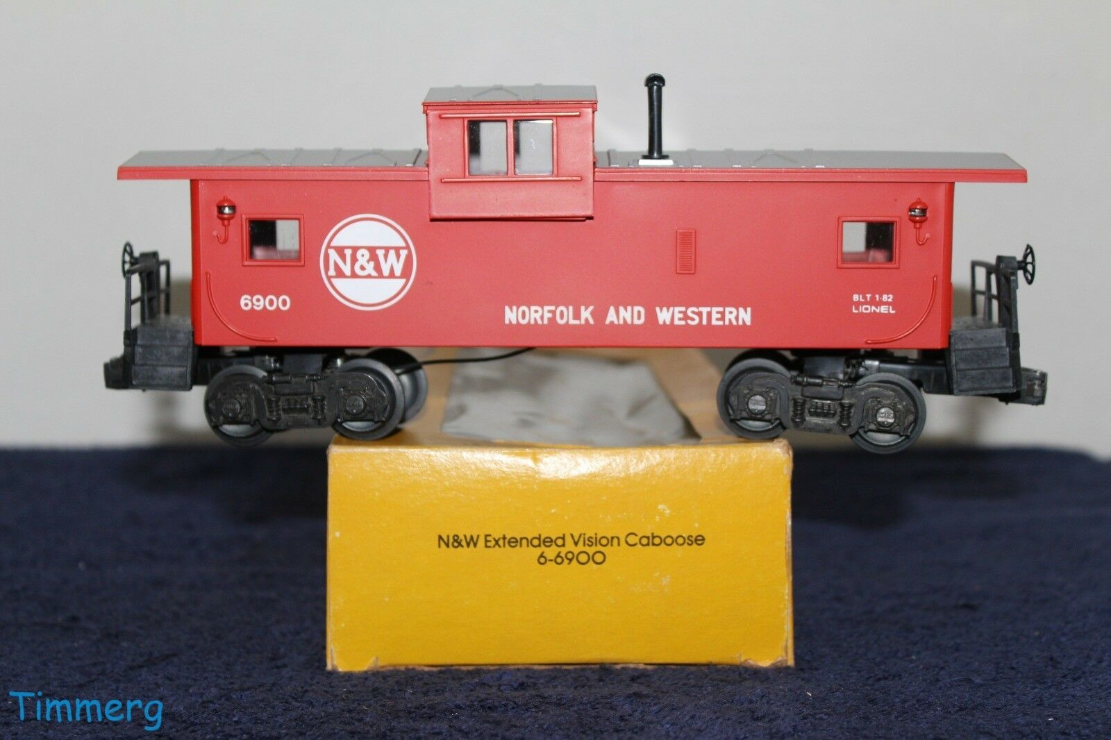 Lionel Trains 9-6900 N&W Norfolk & Western Extended Vision Caboose