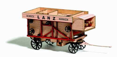 Busch H0  59902  Dreschmaschine Lanz 1911  Neu//OVP
