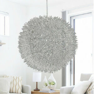 New modern aluminum ball matalica cable pendant lighting chandelier image is loading new modern aluminum ball matalica cable pendant lighting aloadofball Gallery