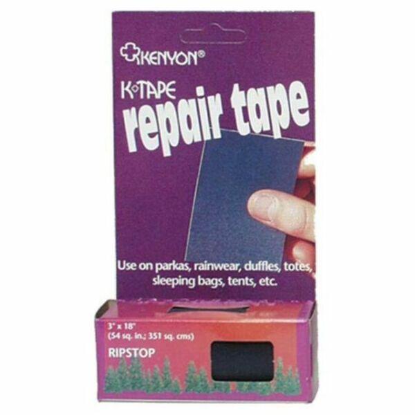 """2/"""" x 25/' #251230 SAIL REPAIR TAPE BLACK RIPSTOP NYLON"""
