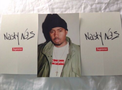 Supreme Nasty Nas Sticker FW17
