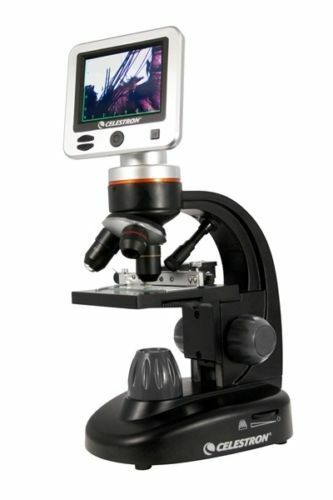 Celestron LCD Deluxe Digital II Microscope 44341 UK Stock